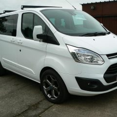 2014 64 FORD TRANSIT CUSTOM DOUBLE CAB LIMITED 2.2 TDCI 155 PS